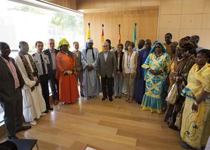 La Pineda acull la jornada cultural senegalesa, Cheikh Bamba